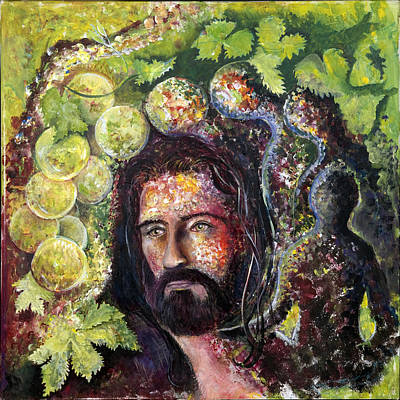 Painting - I am the Vine by Tony Macelli