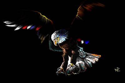 I Believe I Can Fly Art Print by Herbert Renard
