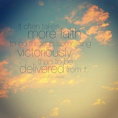 Inspirational Photograph - i Believe It Often Takes More Faith by Traci Beeson