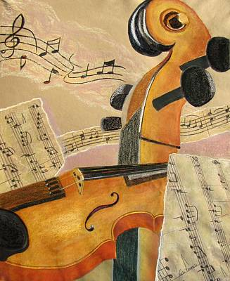 I Can Hear Music Art Print