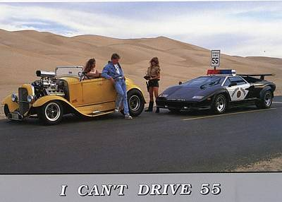 Hager Wall Art - Photograph - I Cant Drive 55 by Impact Posters