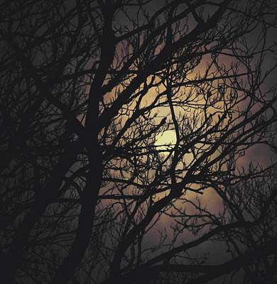 Under The Moon Photograph - I Cast A Spell by Odd Jeppesen