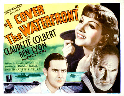 Posth Photograph - I Cover The Waterfront, Ben Lyon by Everett