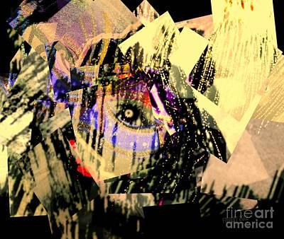 I Crumble Before Him Art Print by Fania Simon
