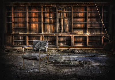 Asylum Photograph - I Don't Want Your Yesterdays by Evelina Kremsdorf