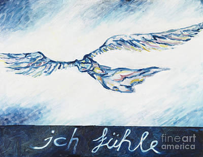 I Feel - Ich Fuehle. Art Print by Florian Divi