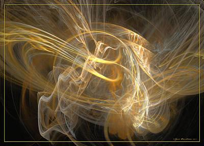 Digital Art - I Feel Like A Winner by Sipo Liimatainen