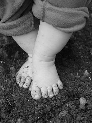 Art Print featuring the photograph I Feel The Earth...move...under My Feet by Elizabeth  Sullivan