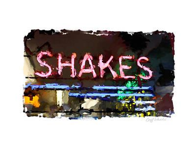 I Got The Shakes Art Print by Geoff Strehlow