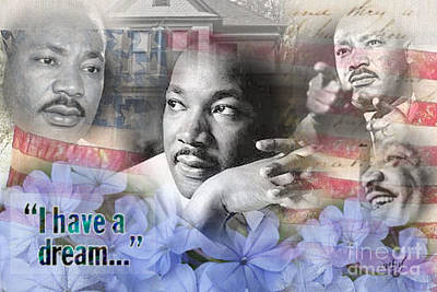 Digital Art - I Have A Dream by Ruby Cross