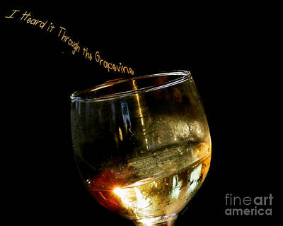 I Heard It Through The Grapevine Art Print by Linda Galok