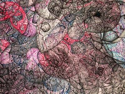 Didgital Art Drawing - I Left All Of My Chocolate In Pittsburg Large Detail by Jack Dillhunt