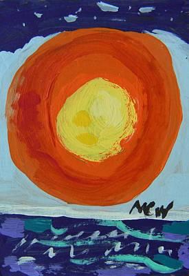 I Like A Full Sun Art Print by Mary Carol Williams