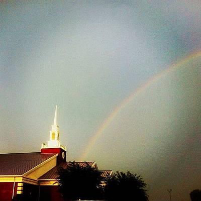 Golden Wall Art - Photograph - I Love My Church ! @thepentecostals by Levi Golden