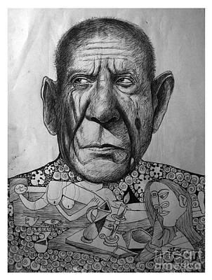 I Love Picasso  Original by Madhu Kuruva