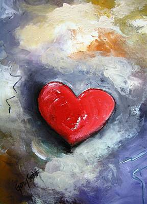 Painting - I Love You by Gary Smith