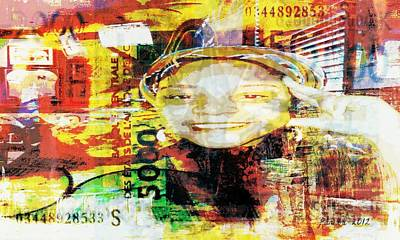 Problems Mixed Media - I Loved I Paid  by Fania Simon