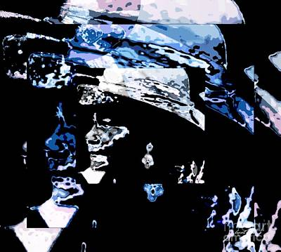Claude Mixed Media - I Name You Simone by Fania Simon