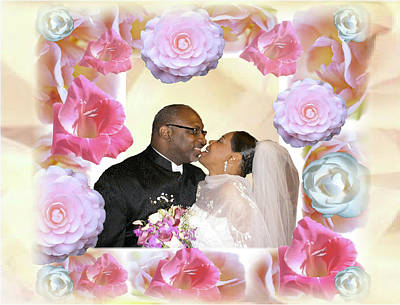 Digital Art - I Pronounce You Husband And Wife by Terry Wallace