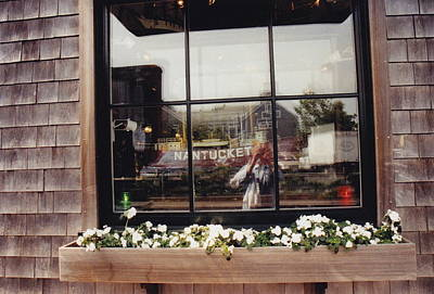 Photograph - I See Nantucket . . Nantucket Sees Me by Barbara Plattenburg