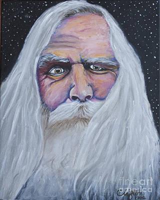 I See Thy Eye Art Print by Sandy Clifton