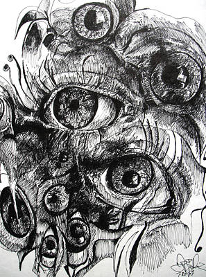 I See Voices  Art Print