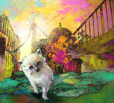 Painting - I Think I Am Lost by Miki De Goodaboom