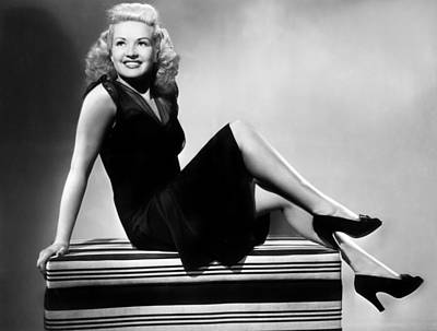 1941 Movies Photograph - I Wake Up Screaming, Betty Grable, 1941 by Everett