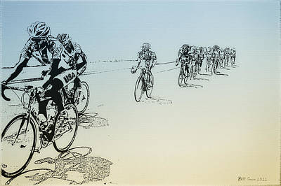 Bicycle Race Photograph - I Want To Ride My Bicycle by Bill Cannon