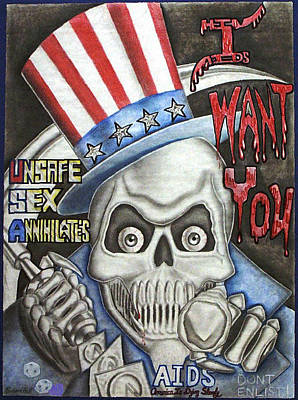 I Want You Art Print by Rick Hill