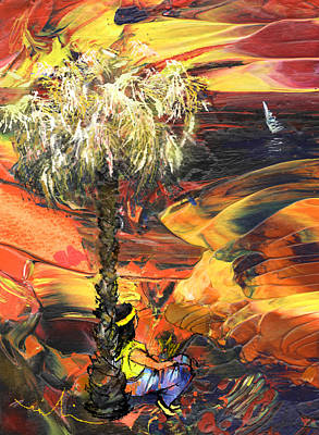 Painting - I Wish I Were There by Miki De Goodaboom