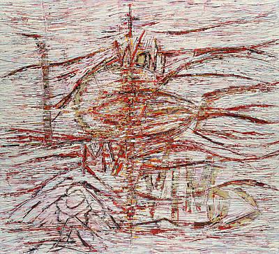 Painting - I Won't Lose My Wings by Hermann Lederle