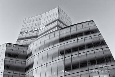 Iac Building Iv Art Print by Clarence Holmes