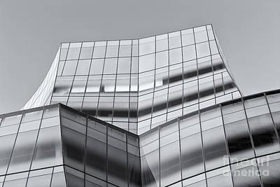 Iac Building V Art Print by Clarence Holmes
