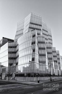 Iac Building Vi Art Print by Clarence Holmes