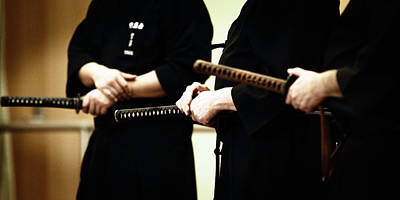 Photograph - Iaido _ 10 by Tim Nichols