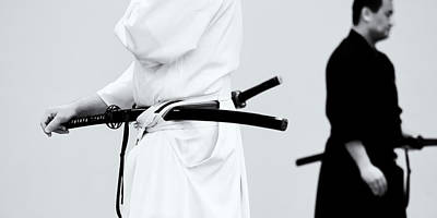 Photograph - Iaido _ 5 by Tim Nichols