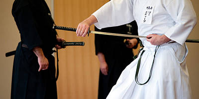 Photograph - Iaido by Tim Nichols