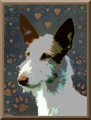 Ibizan Hound Art Print by One Rude Dawg Orcutt