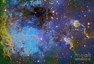 Just Desserts - Ic 410, The Tadpole Nebula by Ken Crawford