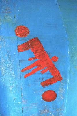 Iron-knee Painting - Icarus by Raul Gubert