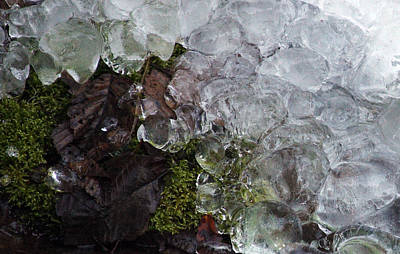 Photograph - Ice - 0032 by S and S Photo