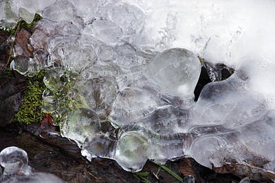 Photograph - Ice - 0034 by S and S Photo