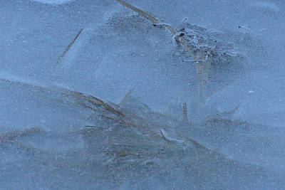 Photograph - Ice - 0035 by S and S Photo