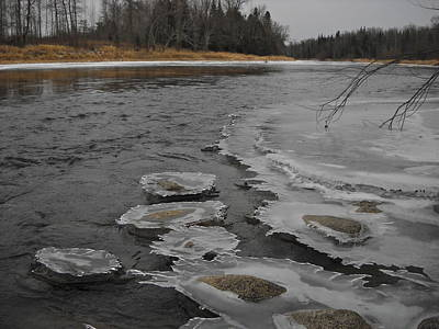 Photograph - Ice Above The Water by Kent Lorentzen
