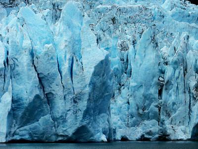 Photograph - Ice Blue by Judy Wanamaker