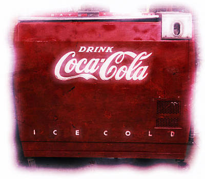 Photograph - Ice Cold Coca Cola by Heidi Smith