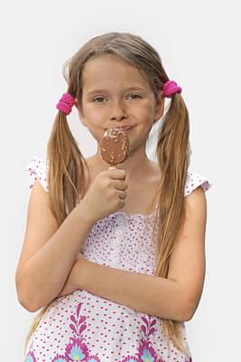 Enjoyment Photograph - Ice Cream by Joana Kruse