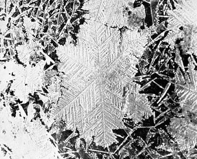 Ice Crystals, 1926 Art Print