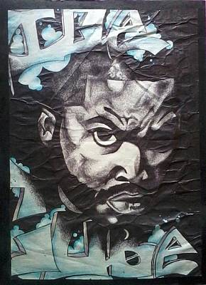 Ice Cube Print by Abby Williams
